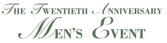 The Mens Event logo