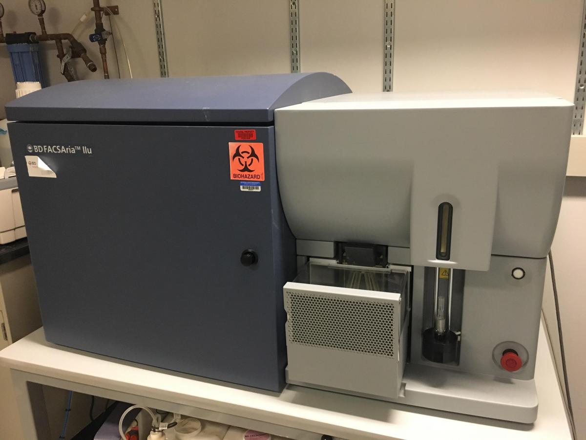 flow cytometer in the lab