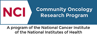 NCI Community Oncology Research Program logo