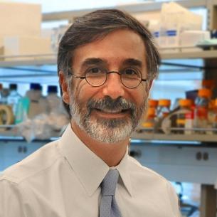Samir N. Khleif in a lab setting